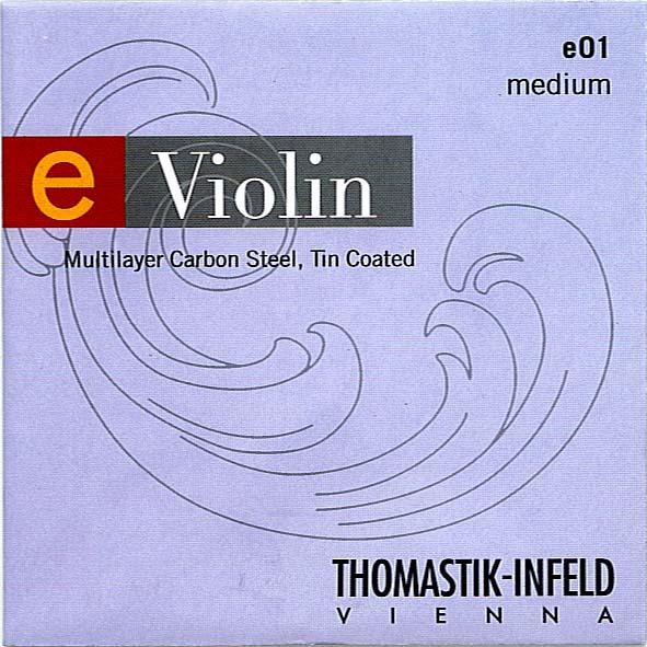 para tamanos peguenos juego 1//4 medium Thomastik Cuerdas para viol/ín Spirit